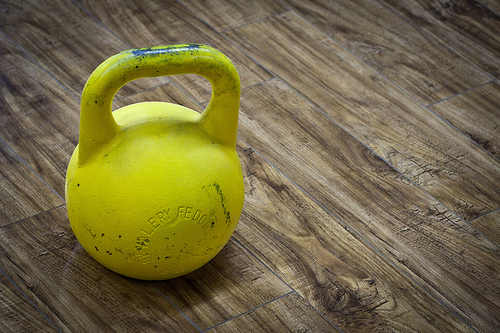 Kettlebells: Easy to hold, great for beginners