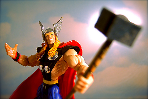 Give your clients speed and strength like Thor God of Thunder!