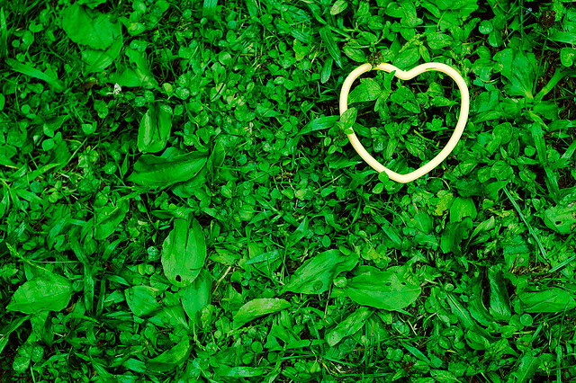 green heart